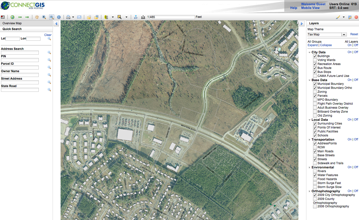 Online Mapping | Jacksonville, NC - Official Website on
