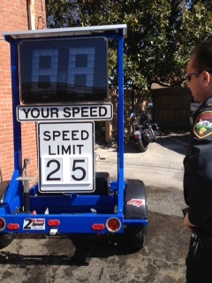 Radar Speed Trailer with Magill