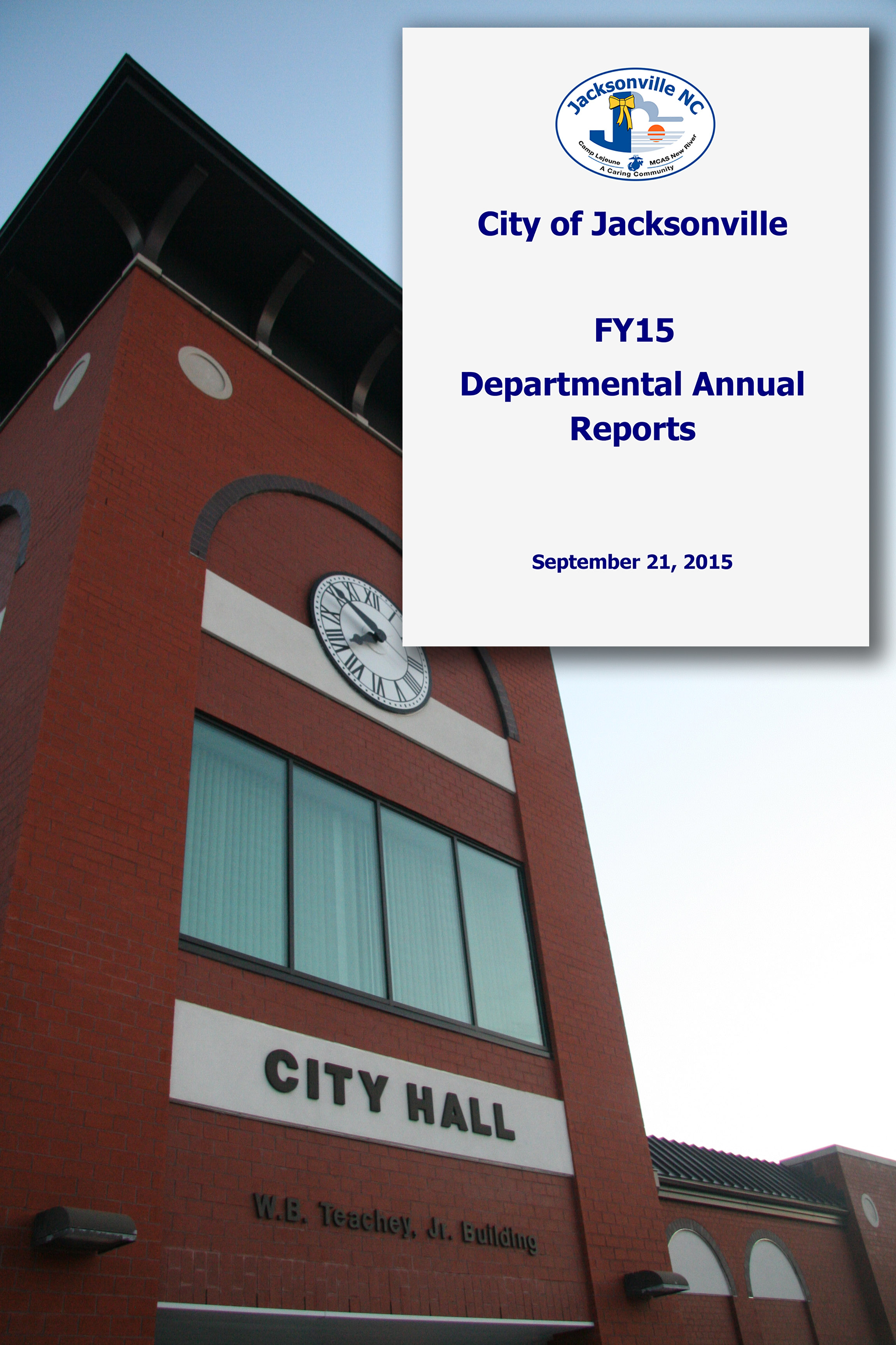 City of Jacksonville - FY15 Departmental Annual Reports