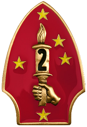 2nd Marine Division Patch