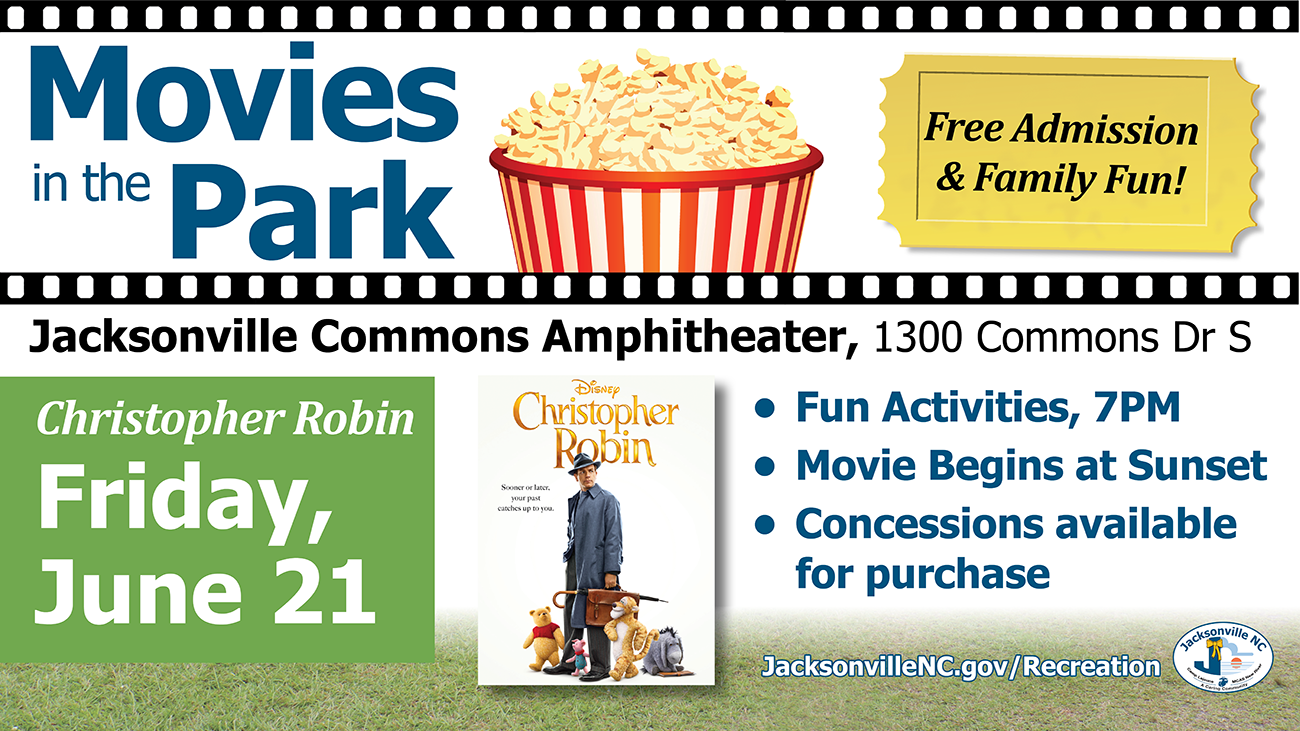 Movies in the Park Christopher Robin