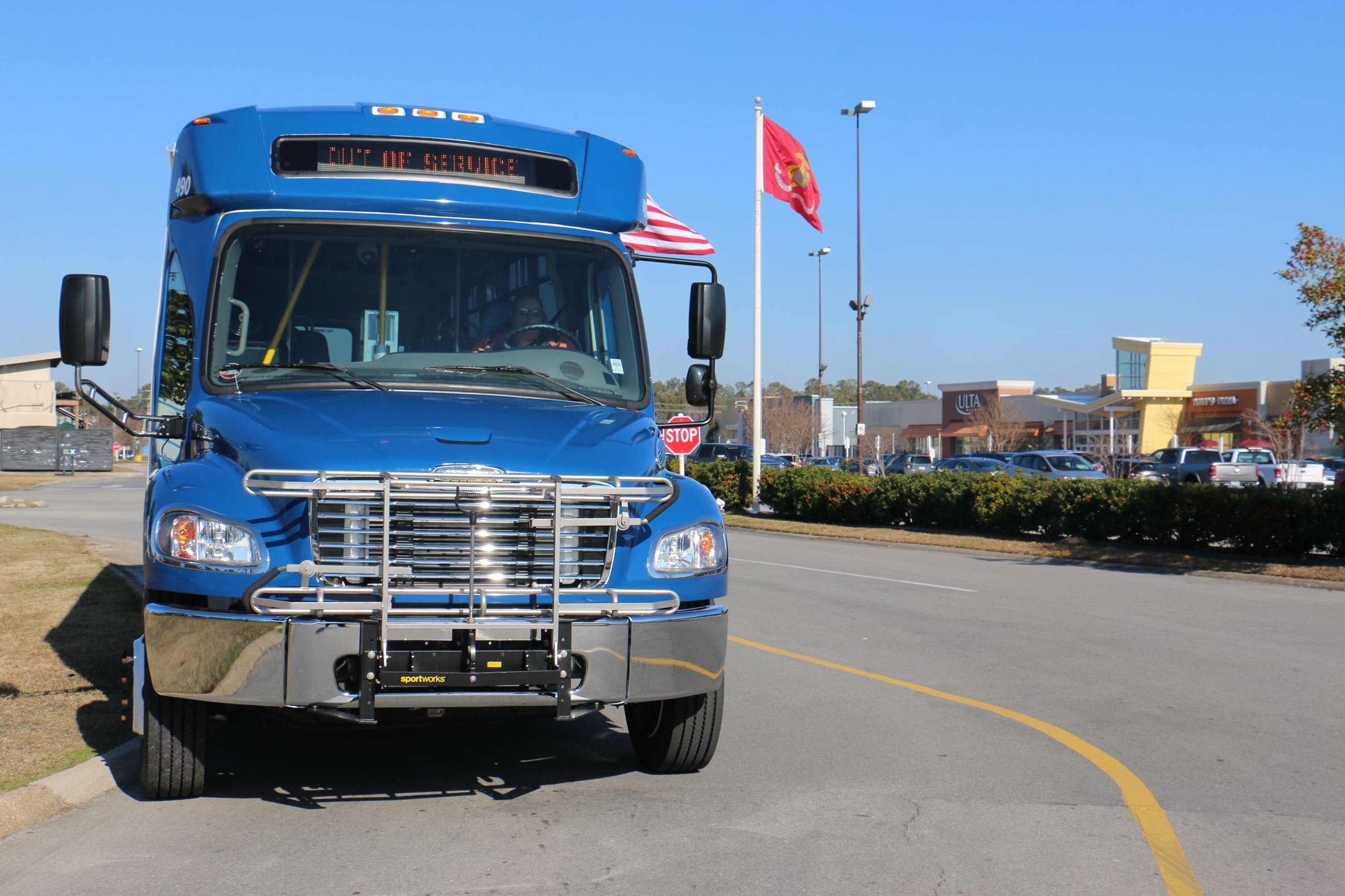 Jacksonville Transit, serving riders on and off military installations