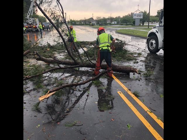 April 13, 2020 - Weather event, Jacksonville- Streets-Gum Branch Road Assistance