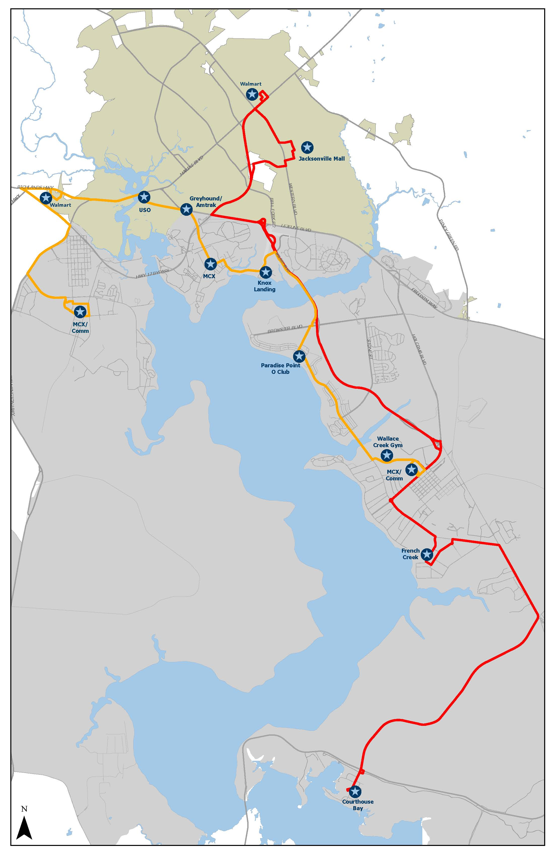 Route Maps Schedules Jacksonville Nc Official Website