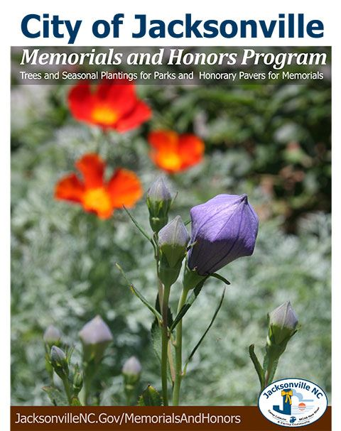 Memorials and Honors Program brochure