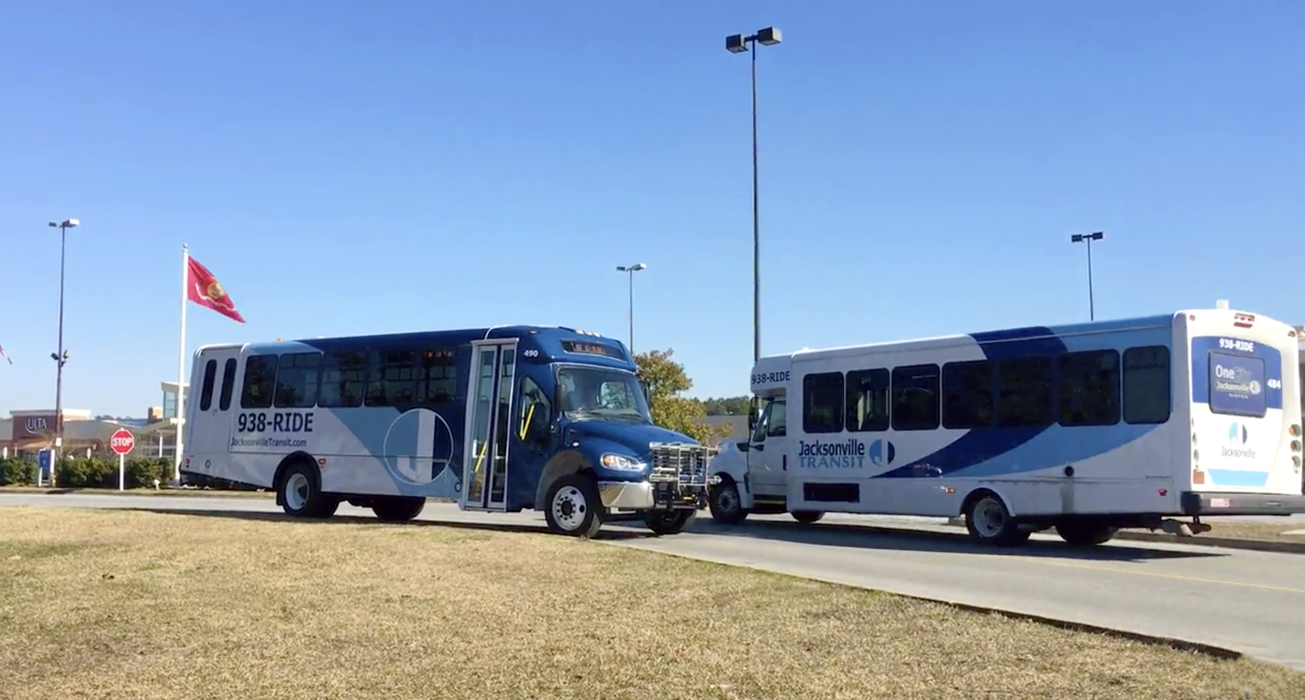 Transit Buses - New and Old