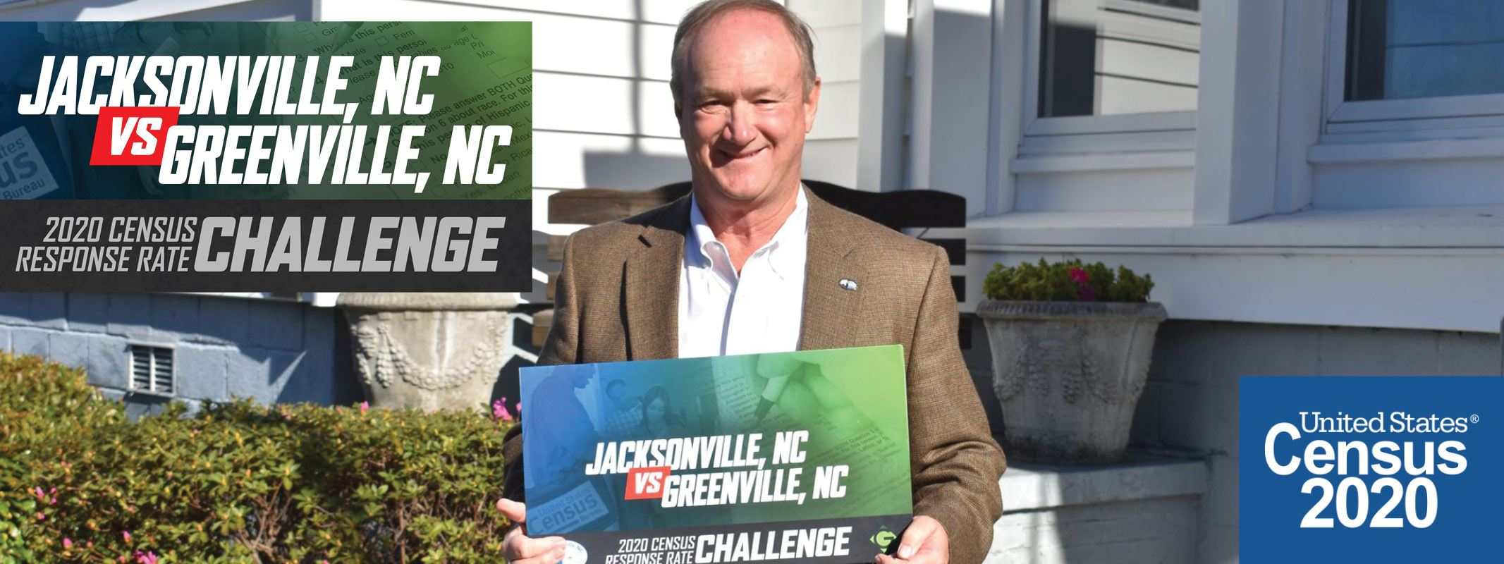 Jacksonville to Greenville: Census Response Challenge