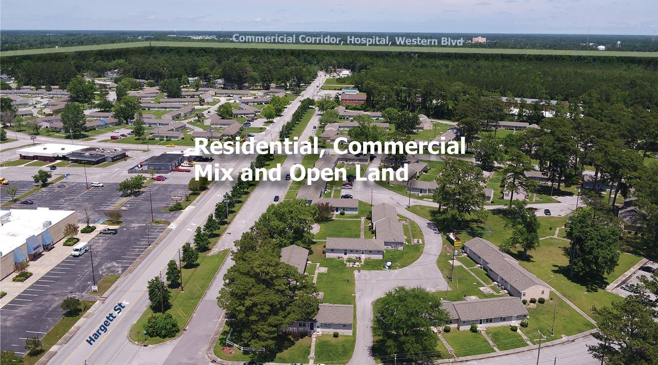 Jacksonville NC Opportunity Zone Aerial1