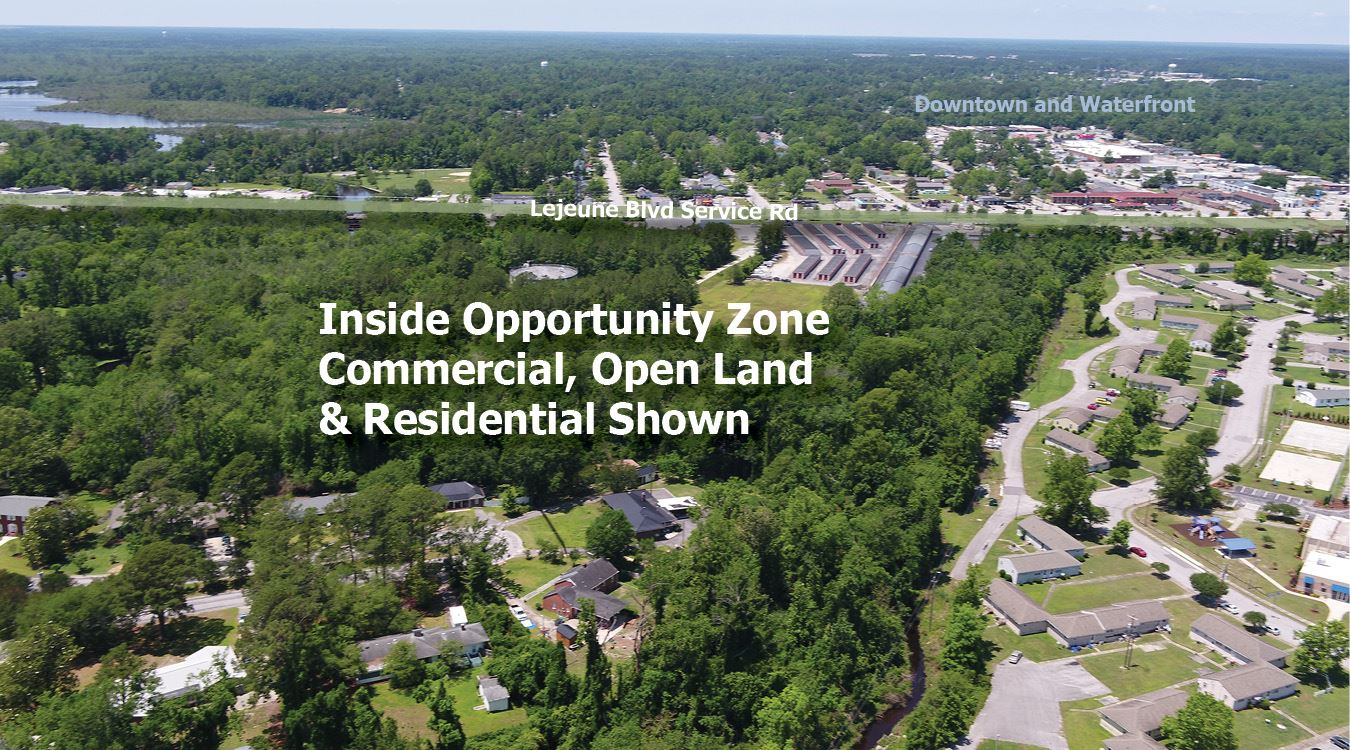 Jacksonville NC Opportunity Zone Aerial4