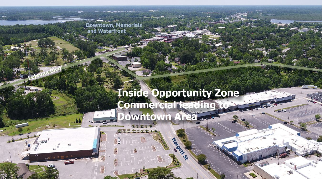 Jacksonville NC Opportunity Zone Aerial 5