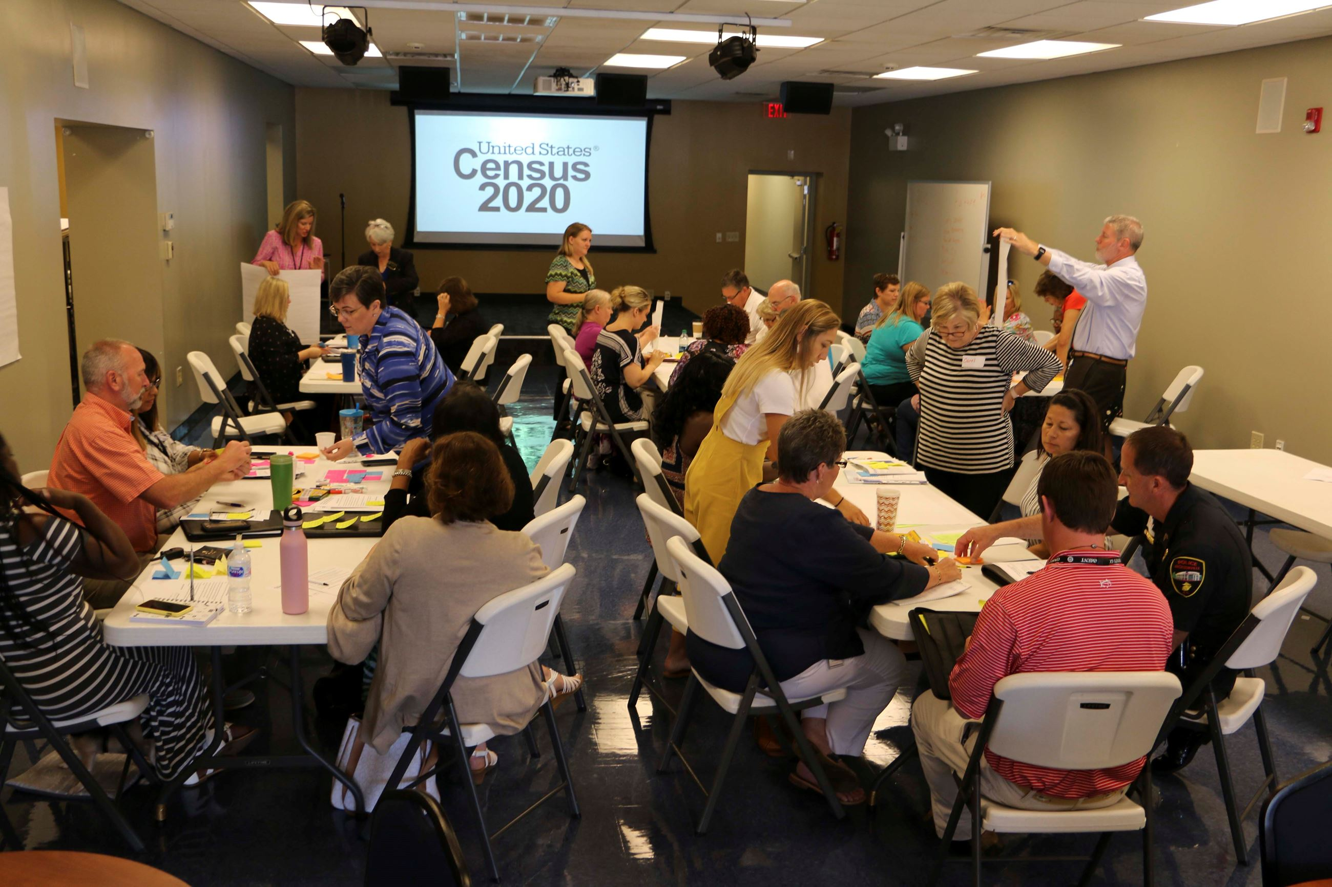 Jacksonville-Onslow 2020 Census Planning and Training Meetings