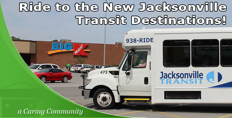 New Jacksonville Transit Destinations