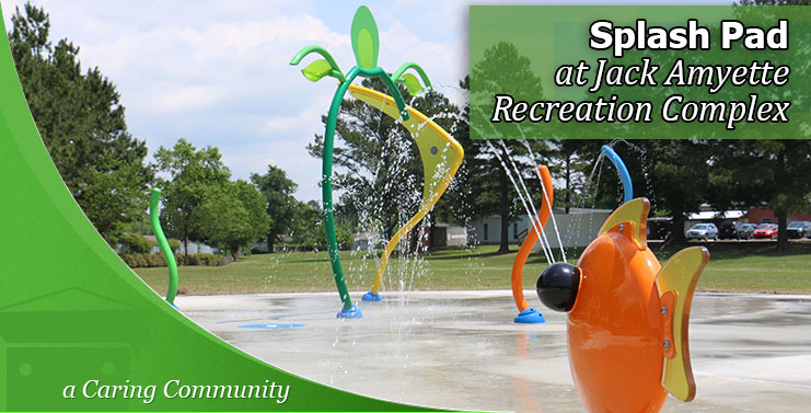 Splash Pad at Jack Amyette Recreation Complex is now open