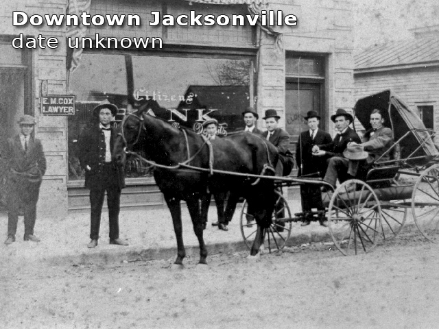 downtown Jacksonville, date unknown
