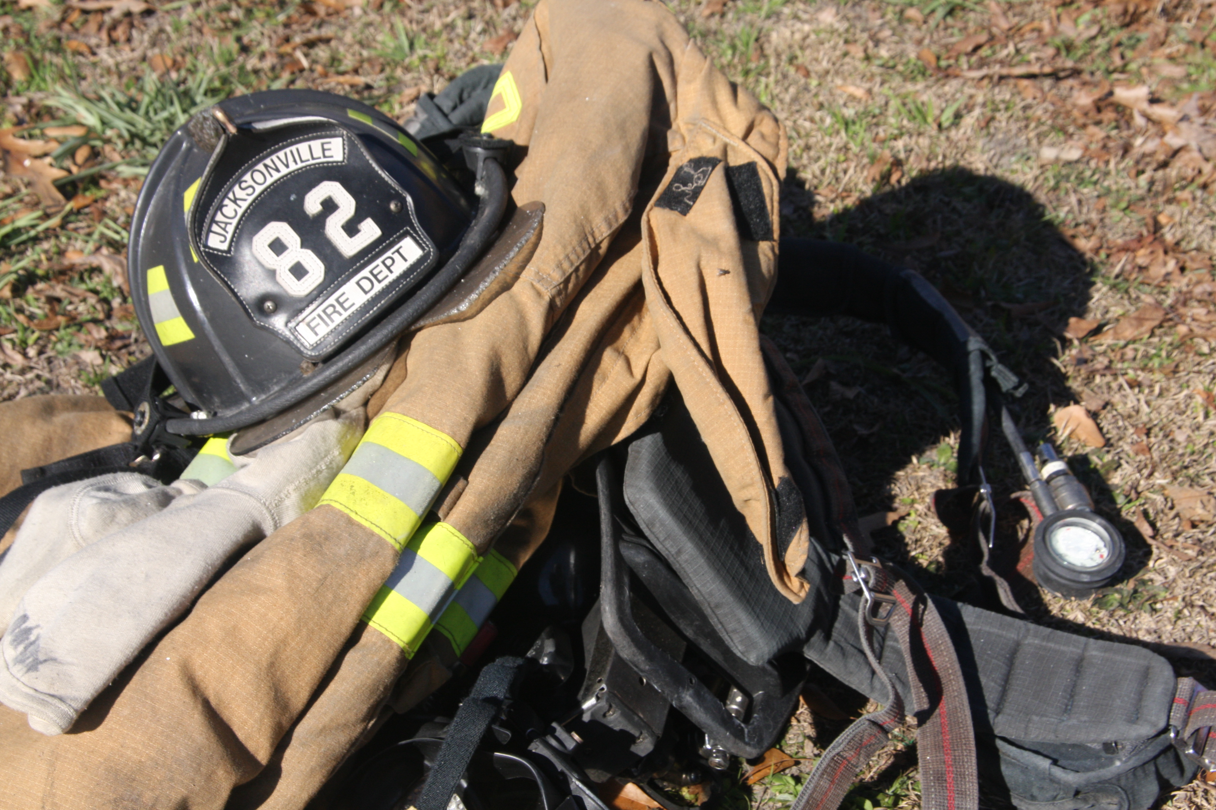 Jacksonville Firefighter gear