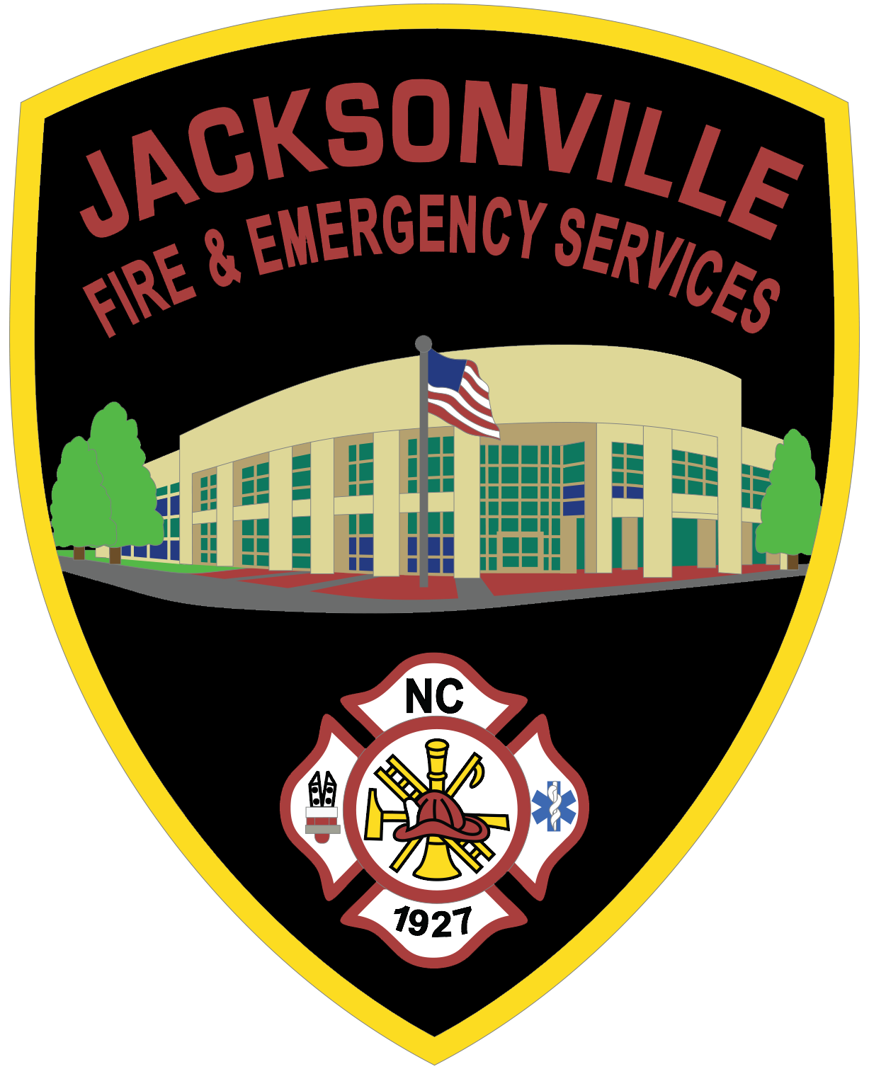 Jacksonville Fire and Emergency Services patch