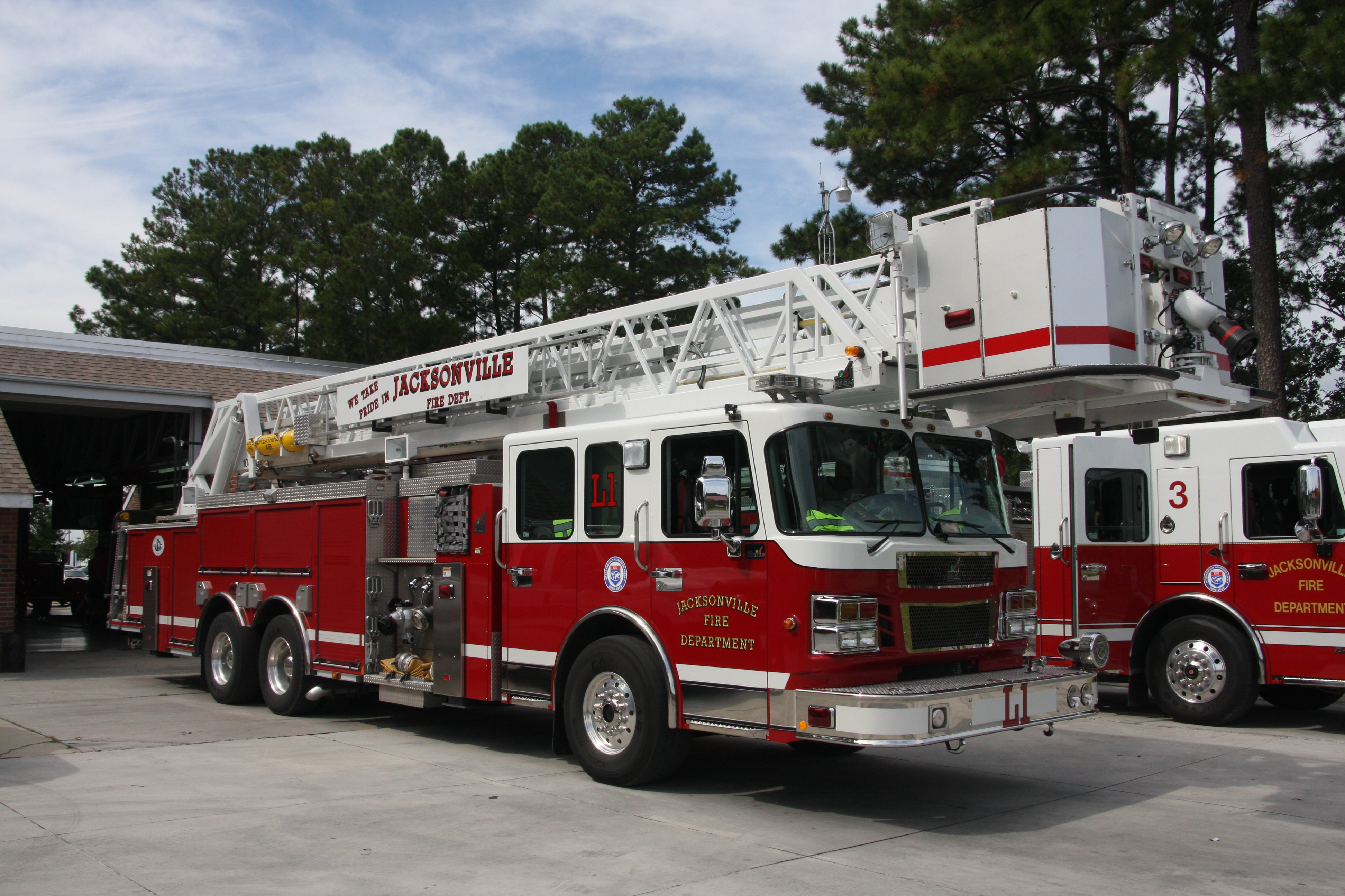 a Jacksonville Fire Truck