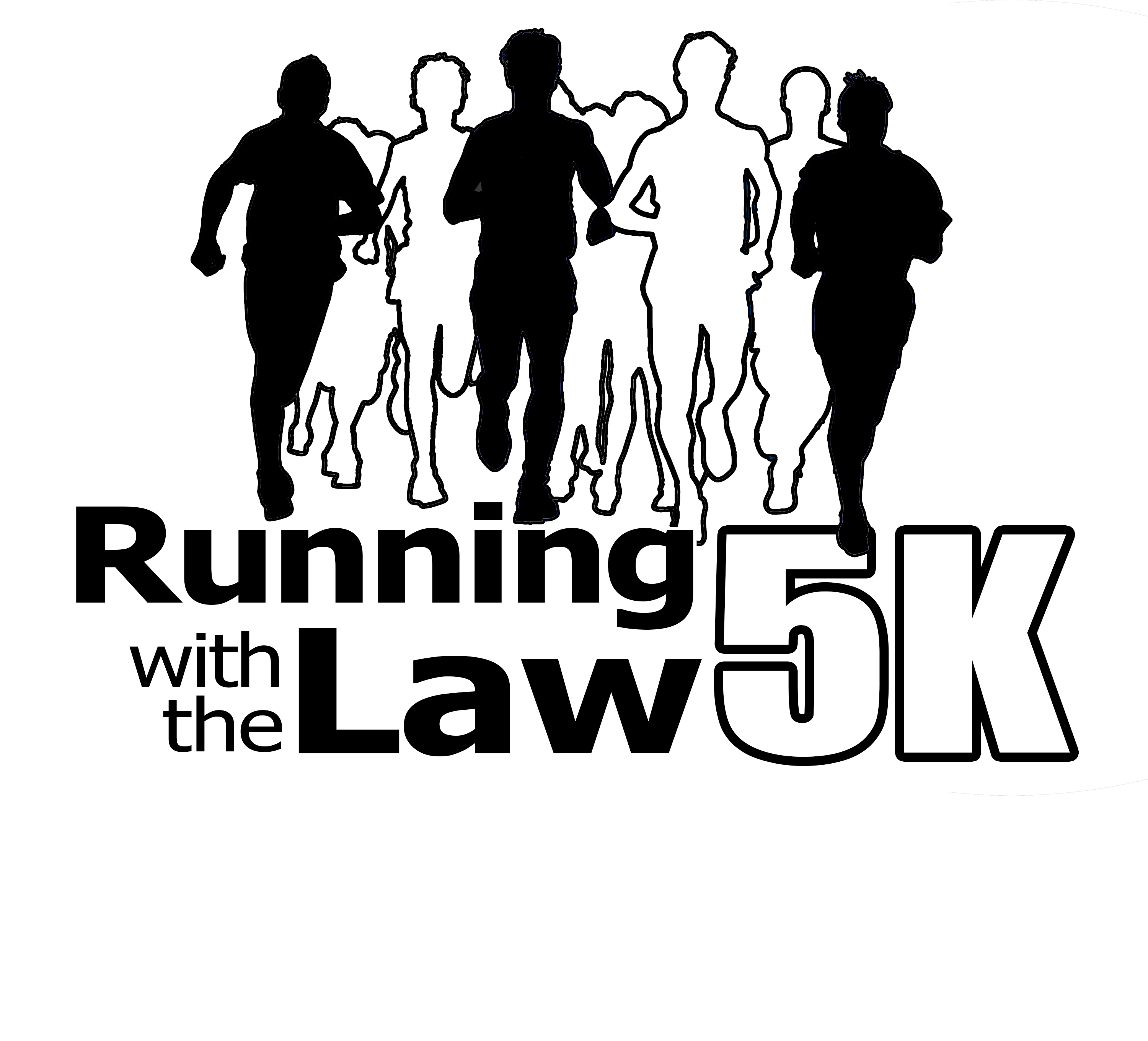 Running With The Law 5K logo