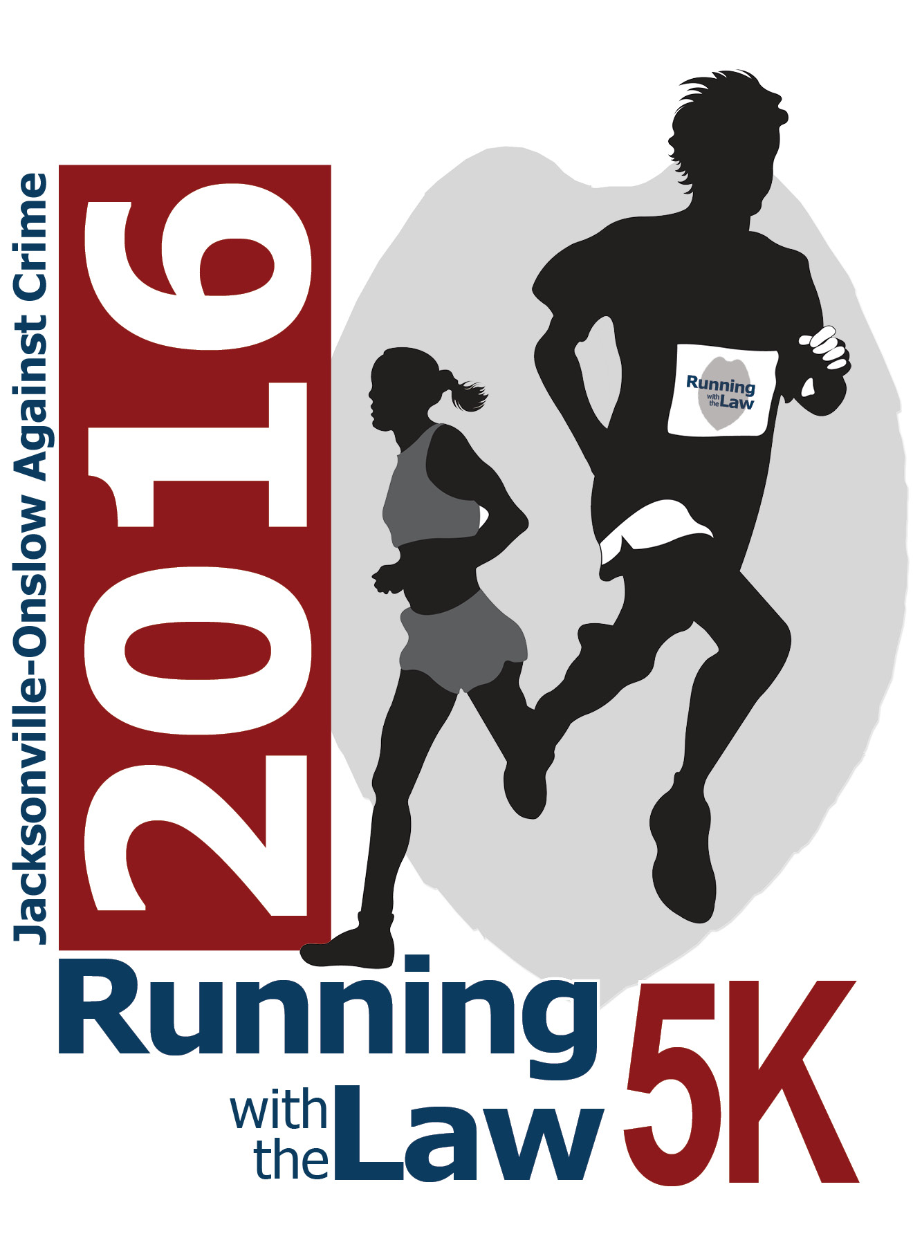 Running with the Law 2016 logo
