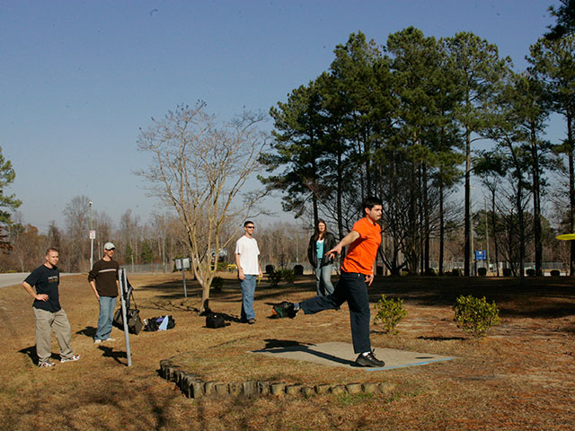 Northeast Creek Park, Frisbee Golf