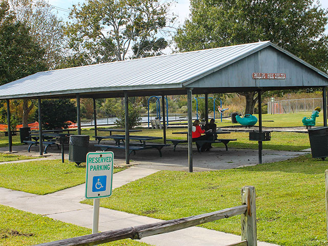 Phillips Park, shelter