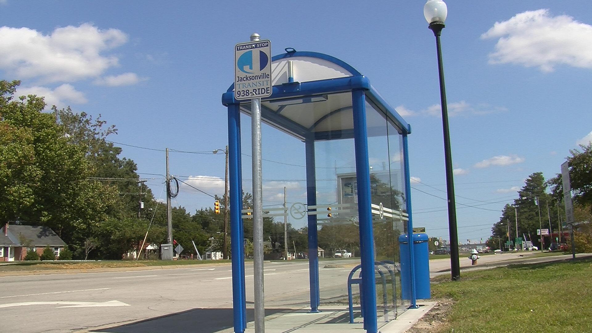 Jacksonville Transit stop
