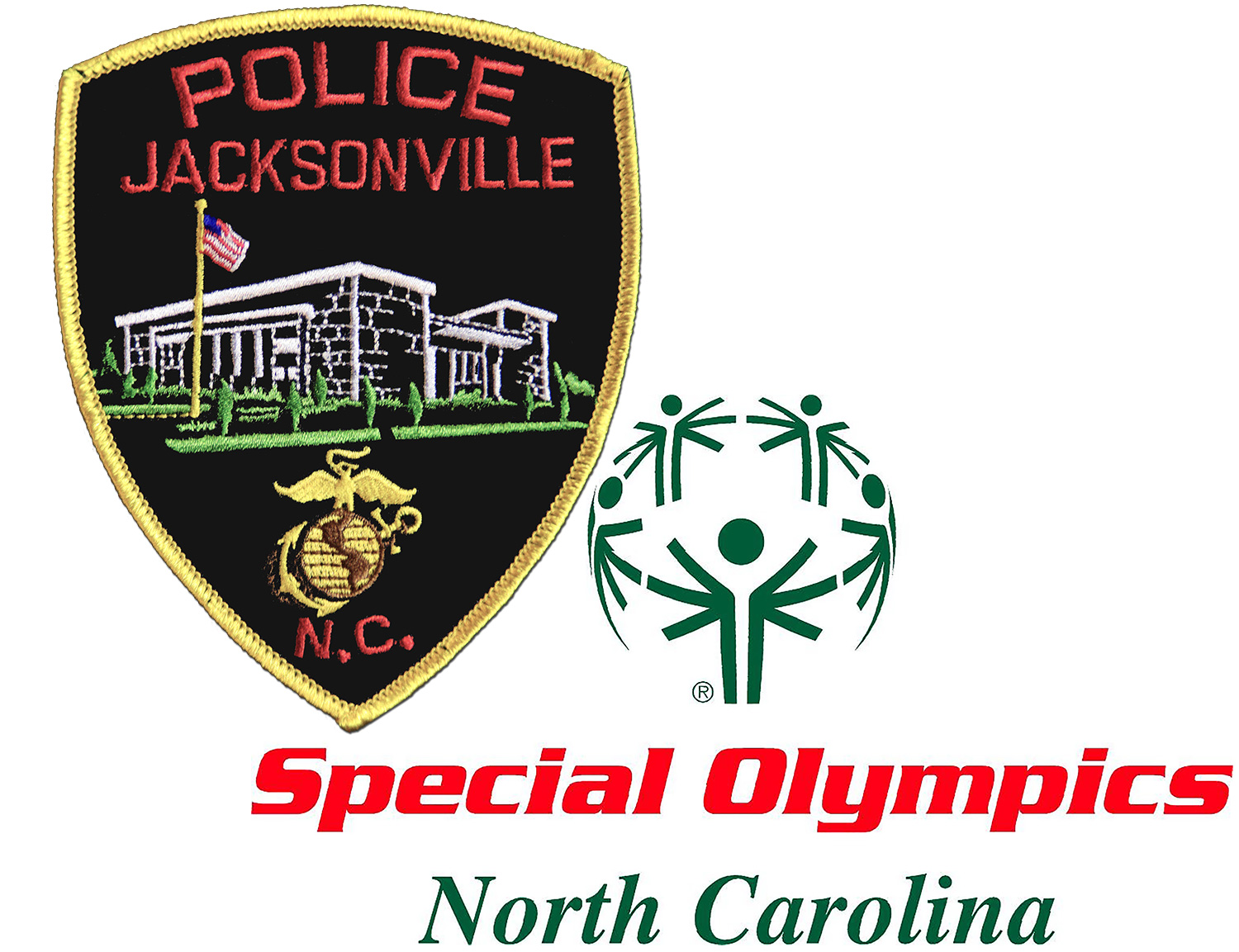 JPD Patch and NC Special Olympics logo